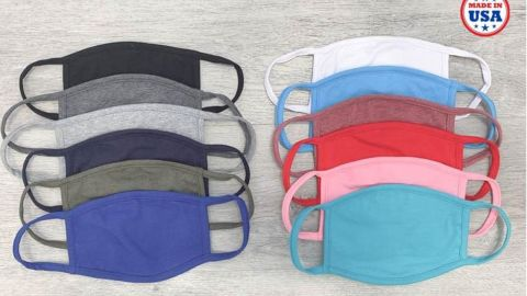 SmallableCo Adult/Kids Protective Face Mask with Filter Pocket