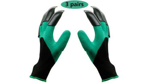 Garden Genie Gloves, gloves with claws