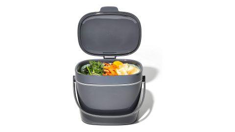 OXO Good Grips Easy-Clean 1.75-Gallon Compost Bin