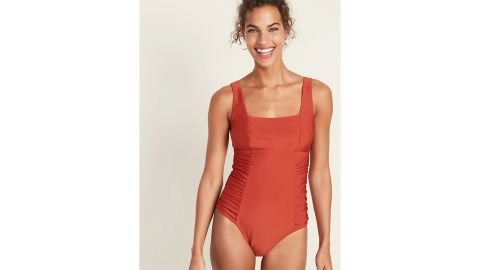 Square-Neck Swimsuit for Women