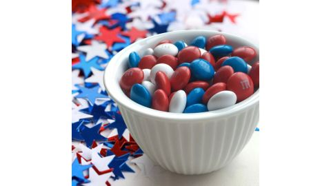 Red, White & Blue Mix M&M's