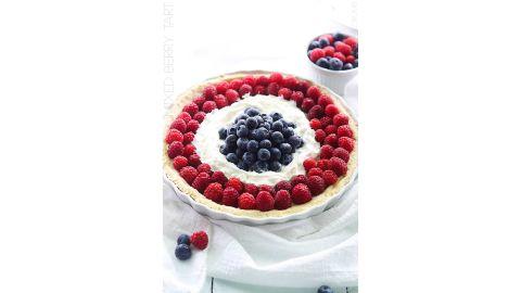 Tiffany Azure's Mixed Berry Tart