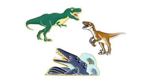 KimYoung Dinosaur Pins