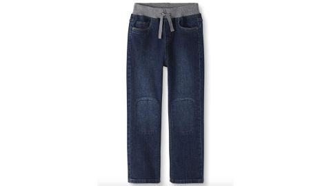 Boys' Double Knee Kickstart Relaxed Jeans