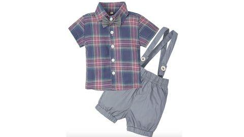 Big Elephant Baby Boys' 2 Piece Clothing Set