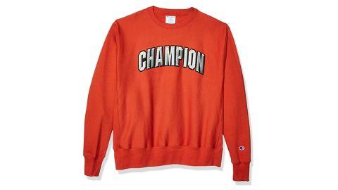 Champion Life Men's Reverse Weave Crew-Block Champion Arch
