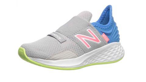 New Balance Kids Fresh Foam Roav V1 Alternative Closure Running Shoe