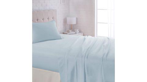 AmazonBasics Lightweight Super Soft Easy Care Microfiber Bed Sheet