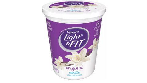 Dannon Light & Fit Original Vanilla Flavored Yogurt - 32 ounces