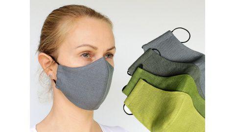 Linen World Washable Face Mask with Filter Pocket