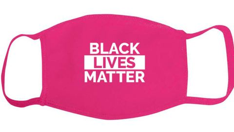 "Bias and Bourbon ""Black Lives Matter"" Face Covering Mask"