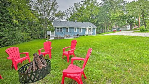 Updated Cottage in Twin Lakes, Wisconsin