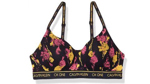 Calvin Klein Women's CK One Cotton Lightly Lined Bralette