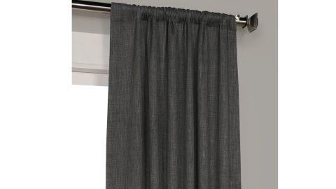 Three Posts Clem Solid Max Blackout Rod Pocket Single Curtain Panel