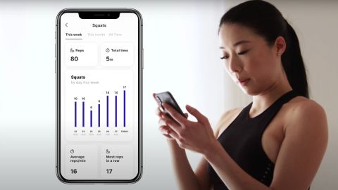 Track your progress right on the app