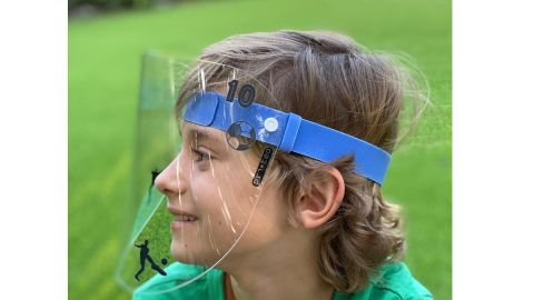 Proted Reusable Kids' Face Shield