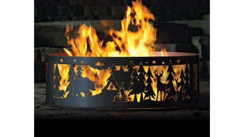 FiveMetalDesign Personalized Northwoods Fire Ring