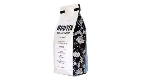 Nguyen Coffee Supply Vietnamese Fair Trade Brooklyn Roasted Whole Beans, Courage