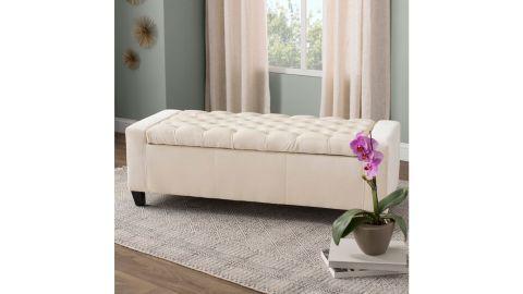Ilchester Upholstered Flip Top Storage Bench