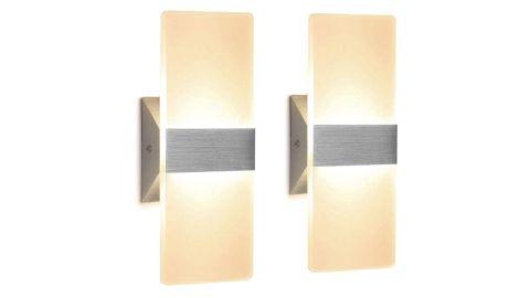 Modern Wall Sconce LED, Set of 2