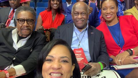 July 2020 - Former 2012 Republican presidential candidate Herman Cain has been diagnosed and hospitalized  with Covid-19, according to his employer Newsmax and an official statement posted on Cain's Twitter feed.  Cain, as a co-chair of Black Voices for Trump, was one of the surrogates at President Trump's June 20 rally in Tulsa, Oklahoma.