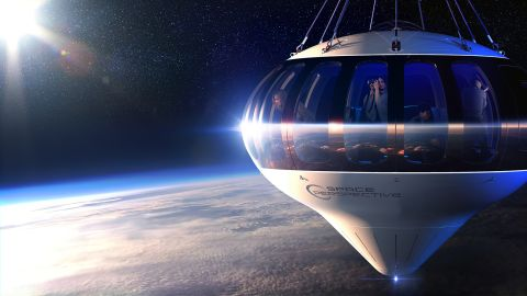 Spaceship Neptune by Space Perspective