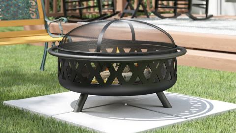 Sol 72 Outdoor Derbyshire Steel Wood Burning Fire Pit