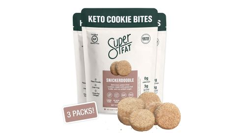SuperFat Snickerdoodle Keto Cookie Bites