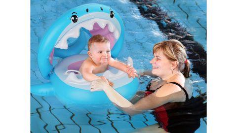 Shark Baby Pool Float