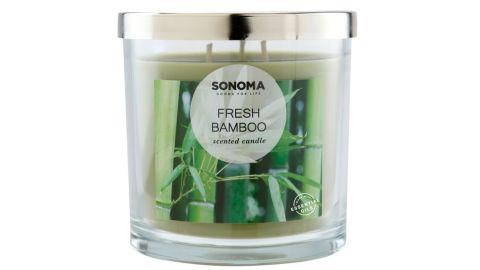 Sonoma Goods for Life Fresh Bamboo 14-oz. Candle Jar