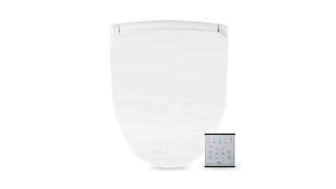 Bio Bidet Slim TWO Bidet Smart Toilet Seat with Night Light and Stainless Nozzle