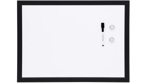 AmazonBasics Magnetic Framed Dry Erase White Board