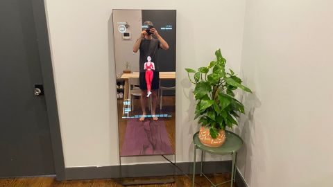 The Mirror Provides A New Look To, Best Size Mirror For Home Gym