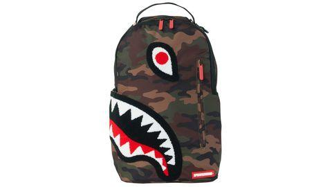 Torpedo Shark Fuzzy Camo Backpack