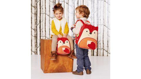 Zoo Little Kid Backpack, Fox