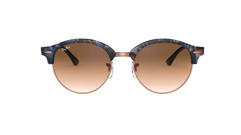 Ray-Ban Clubround Sunglasses Round, global fit