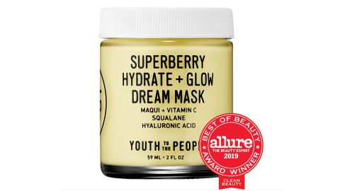 Youth To The People Superberry Hydrate + Glow Dream Mask With Vitamin C