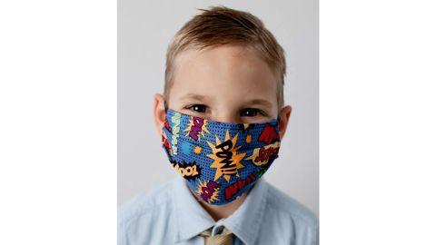 Cloth Fabric Face Mask, Superhero Theme