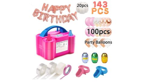Capkit Balloon Pump and Party Balloons Kit