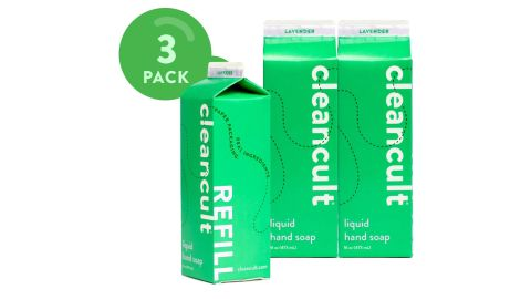 Cleancult Liquid Hand Soap Refill, 3-Pack