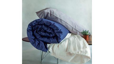 Fab Dreams 100% Organic Cotton Queen Ivory Sheet Set