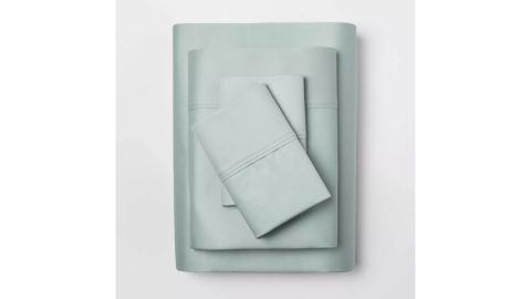 Threshold 400-Thread-Count Solid Performance Sheet Set