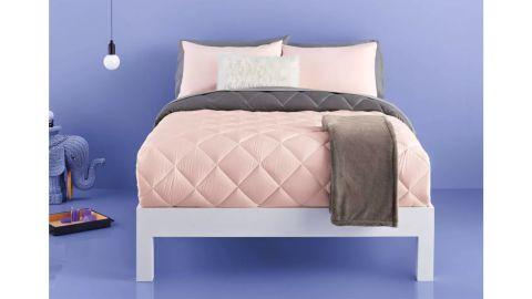 Room Essentials Solid Microfiber Decorative Bed Set