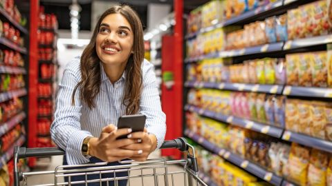 The Blue Cash Preferred card can be a great choice if you spend a lot on groceries each month.