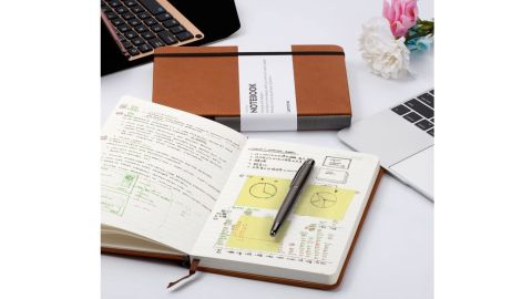 Lemome Hardcover Classic Notebook With Pen Holder