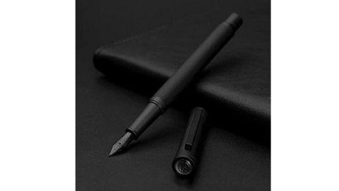 Matte Black Forest Fountain Pen