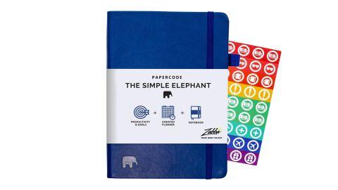 Simple Elephant Planner 2020-2021