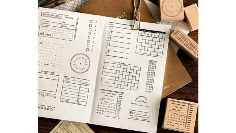 Day Planner Stamps