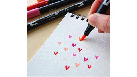 Tombow 56167 Dual Brush Pen Art Markers, 10-Pack
