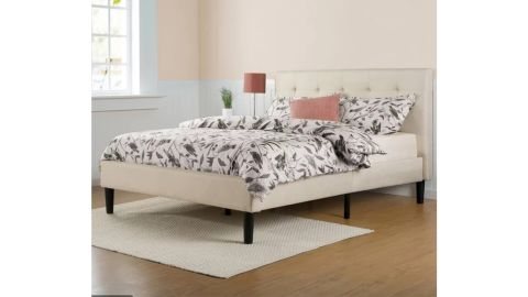 Zipcode Design Leonard Upholstered Low-Profile Platform Bed